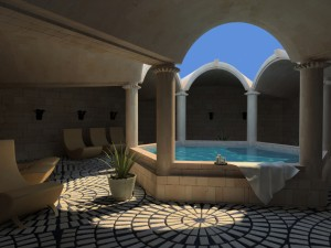 Spa design: The atmosphere in a hotel spa