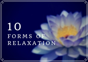 EuropeSpa Blog: 10 Forms of Relaxation